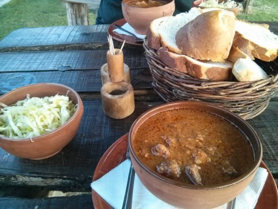 Goulash at Camping Zasavica
